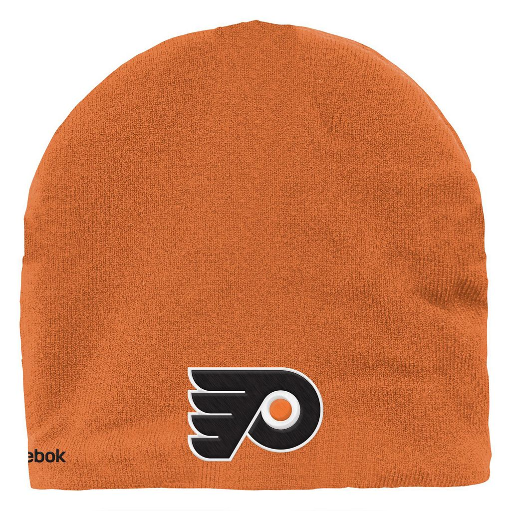 Youth Reebok Philadelphia Flyers Mask Knit Cap