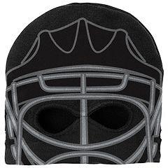 Youth Reebok Pittsburgh Penguins Mask Knit Cap