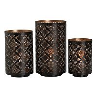 Studio Nova 3-piece Trellis Luminary Set