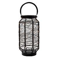Elements LED String Light Lantern