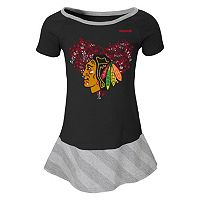 Girls 4-6x Reebok Chicago Blackhawks Fancie Dress