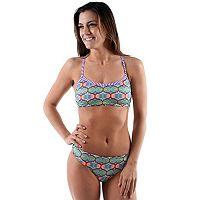 Women's Dolfin Uglies Printed Workout Bikini 2 pc Set