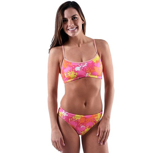 Women's Dolfin Uglies Printed Workout Bikini 2-pc. Set