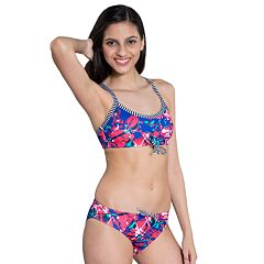 Women's Dolfin Uglies Printed Workout Bikini 2 pc Set