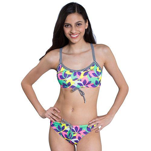 Women's Dolfin Uglies Printed Workout Bikini 2-pc. Set