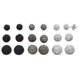 Mudd® Dome Stud Earring Set