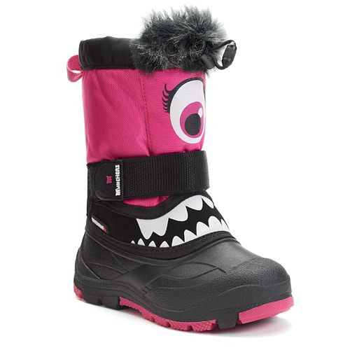 new concept bf410 9c3fb Superfit Maxeye Toddler Girls' Waterproof Winter Boots