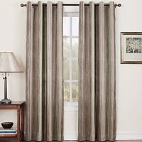 Sun Zero Hanson Stripe Room Darkening Window Curtain