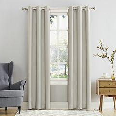 Sun Zero Blackout 1-Panel Mercer Window Curtain