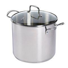 Basic Essentials 12-qt. Stainless Steel Stock Pot