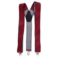 Men's Arkansas Razorbacks Oxford Suspenders