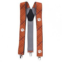 Men's Clemson Tigers Oxford Suspenders