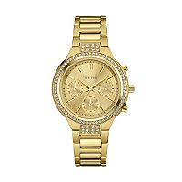 Caravelle New York by Bulova Women's Crystal Stainless Steel Chronograph Watch - 44L179