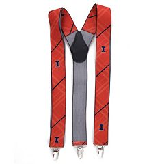 Men's Illinois Fighting Illini Oxford Suspenders