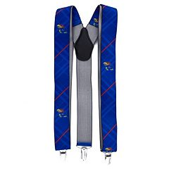 Men's Kansas Jayhawks Oxford Suspenders