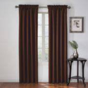 eclipse Thermaback Blackout 1-Panel Corinne Window Curtain