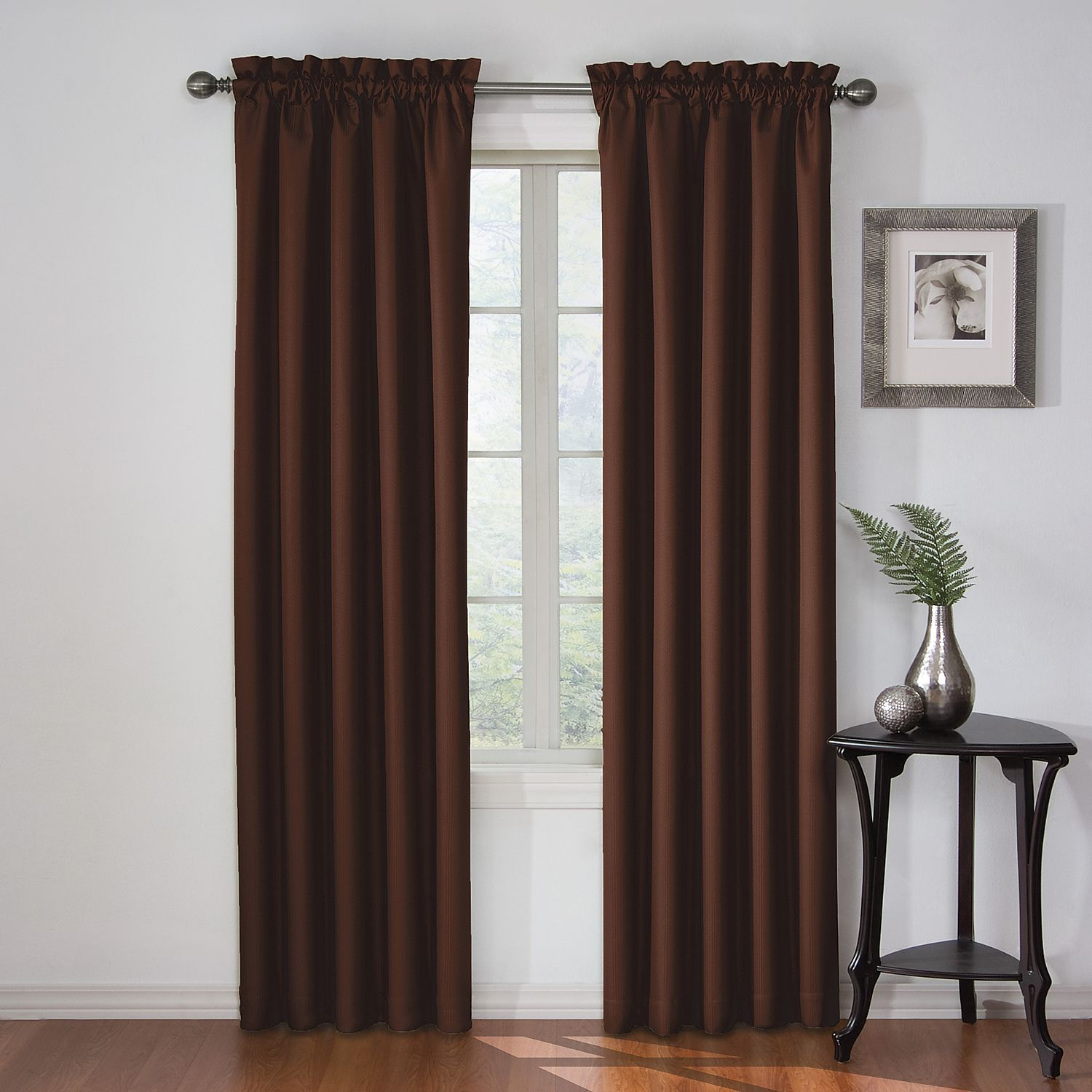 Eclipse Corinne Thermaback Blackout Curtain