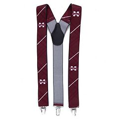Men's Mississippi State Bulldogs Oxford Suspenders