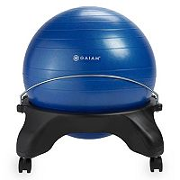 Gaiam Backless Classic Balance Ball Chair