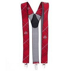 Men's Ohio State Buckeyes Oxford Suspenders