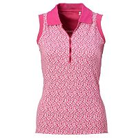 Women's Nancy Lopez Dream Sleeveless Golf Polo