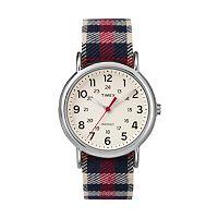 Timex Unisex Weekender Plaid Watch - TW2P89600JT