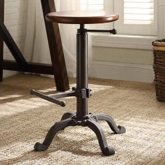Carolina Forge Justin Adjustable Stool