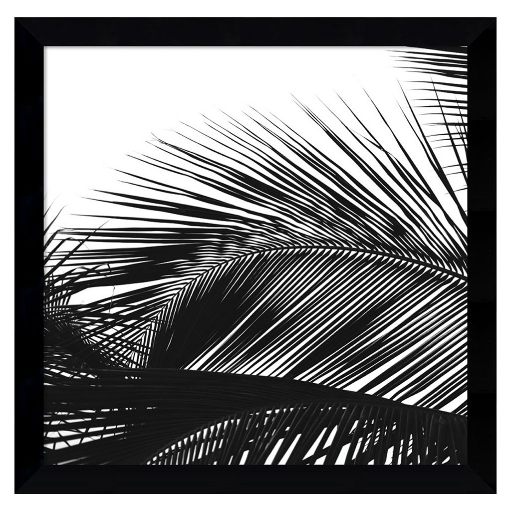 ''Palms 13'' Framed Wall Art