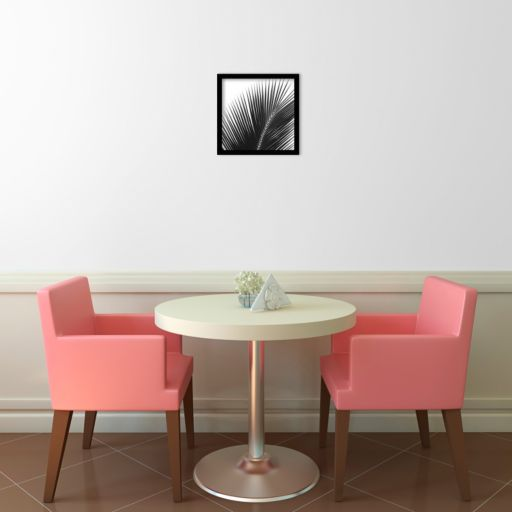 ''Palms 14'' Framed Wall Art