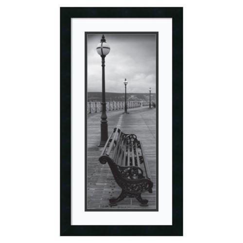 ''Bench on the Boardwalk'' Framed Wall Art