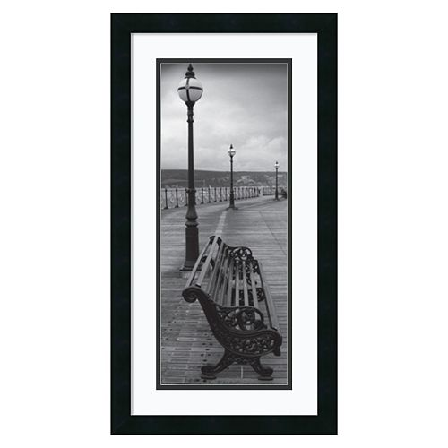 ''Bench on the Boardwalk'' Framed Wall Art
