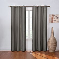eclipse Thermaback Blackout 1-Panel Madison Window Curtain
