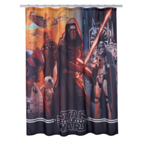 Star Wars: Episode 7 The Force Awakens Shower Curtain