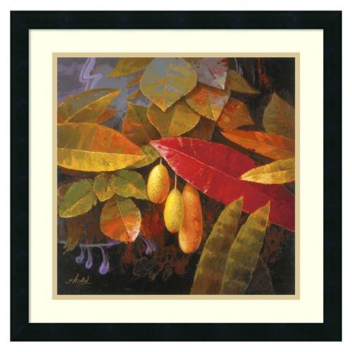 ''Tropical Leaves I'' Framed Wall Art