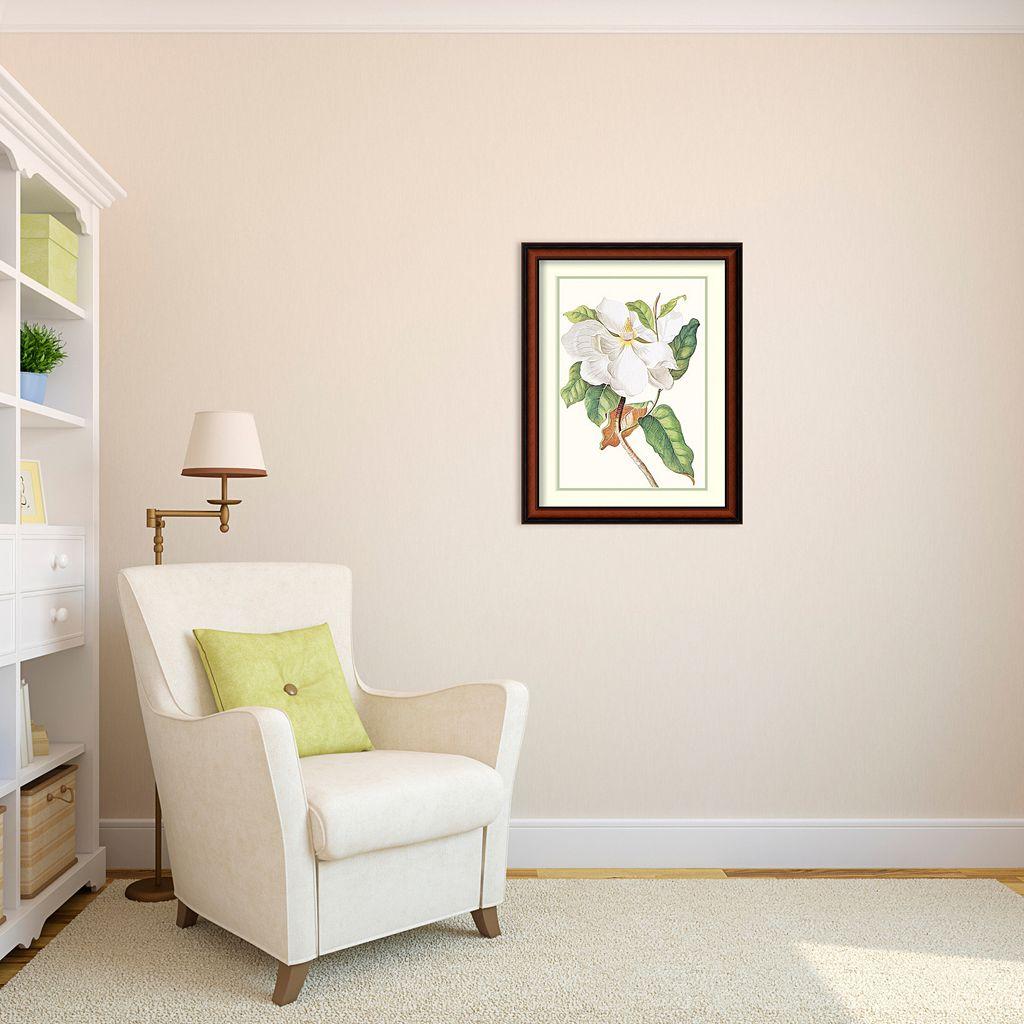 ''Magnolia Maxime Flore'' Framed Wall Art