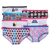 Girls Star Wars 7-pk. Hipsters