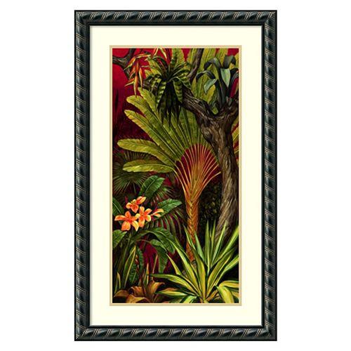''Bali Garden II'' Framed Wall Art