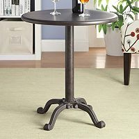 Carolina Forge Addie Pedestal Accent Table