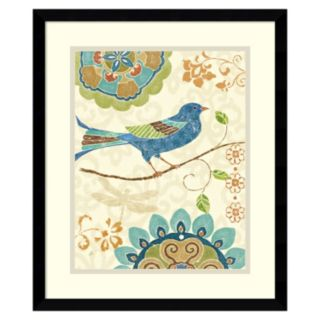 ''Eastern Tales Birds I'' Framed Wall Art