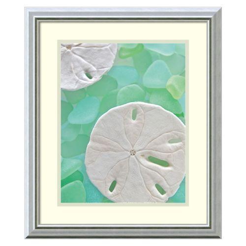 ''Seaglass 5'' Framed Wall Art