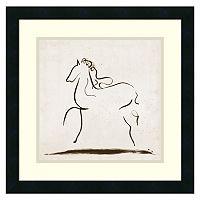 ''Horse I'' Framed Wall Art