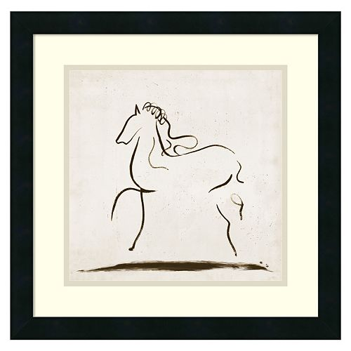 ''Horse I'' Framed Wall Art