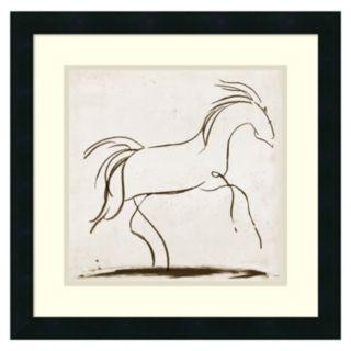 ''Horse II'' Framed Wall Art by Tom Reeves