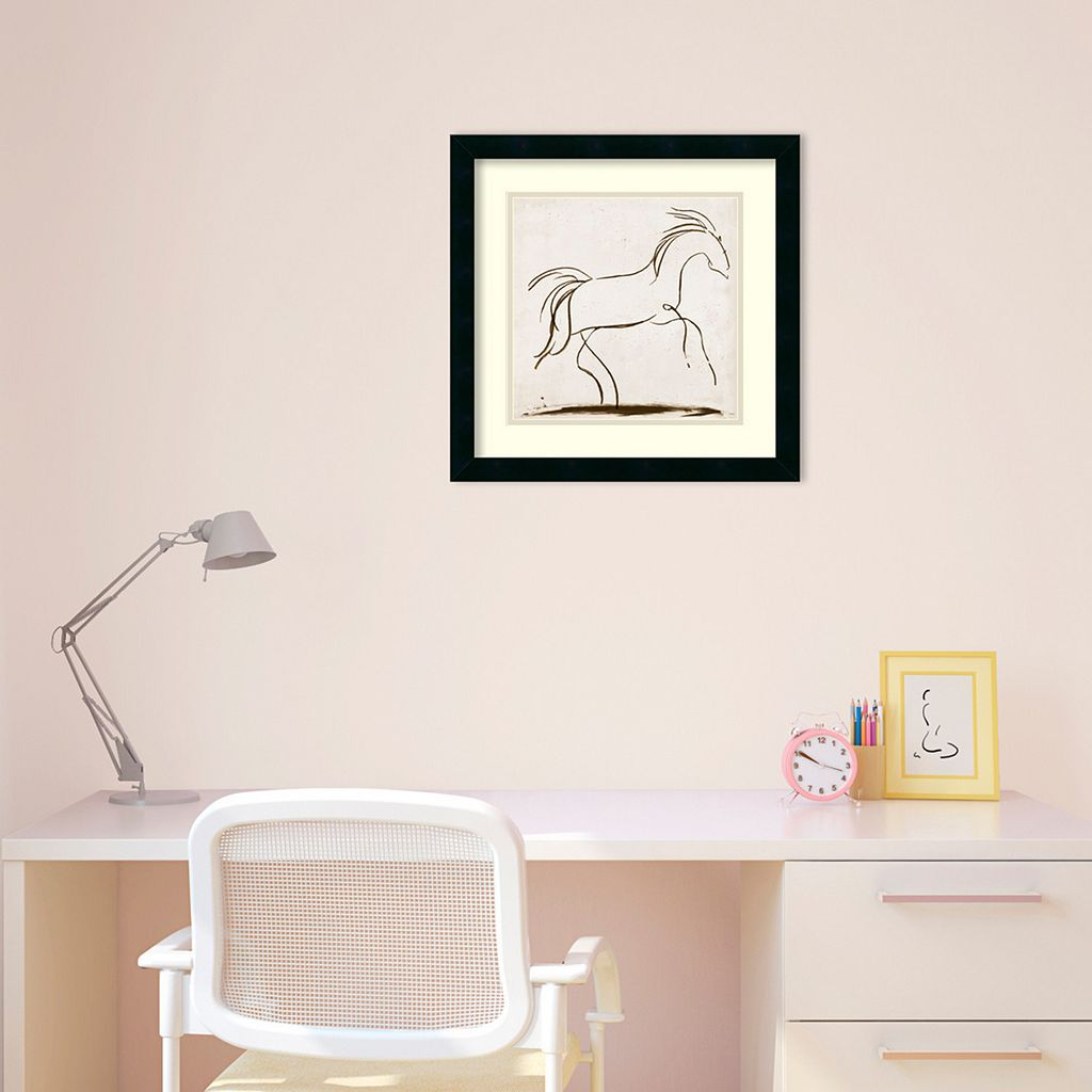 ''Horse II'' Framed Wall Art by Tom Reeves