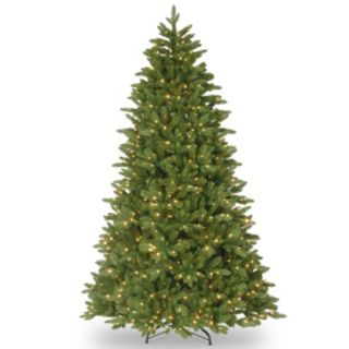 7.5-ft. Pre-Lit ''Feel-Real'' Ridgewood Spruce Artificial Christmas Tree