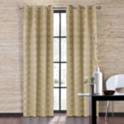 Colordrift 1-Panel Penny Window Curtain