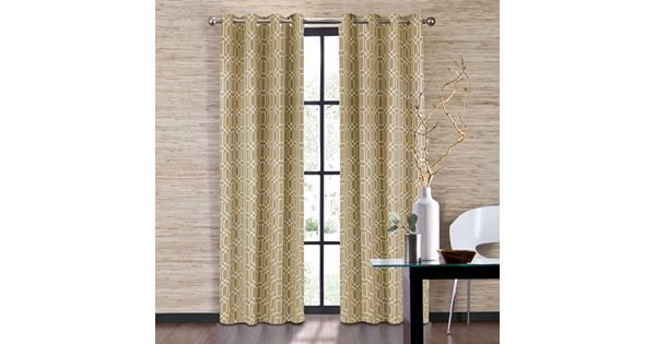 Pennys Dept Store: Colordrift Penny Curtain