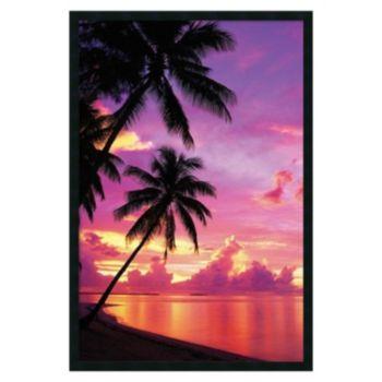 ''Tahitian Sunset'' Framed Wall Art