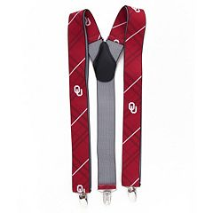 Men's Oklahoma Sooners Oxford Suspenders