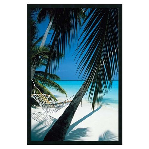 ''Palm View Hammock'' Framed Wall Art
